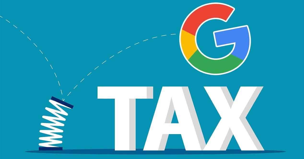 google impuestos subida precios