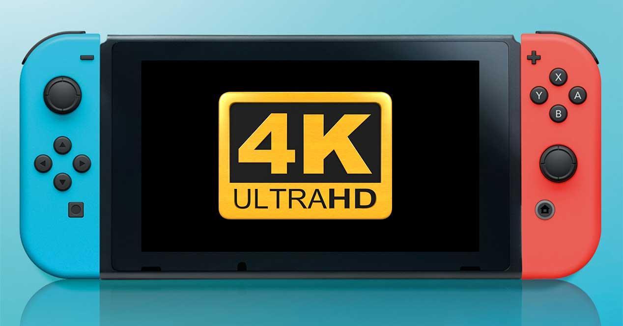 nintendo switch 4k