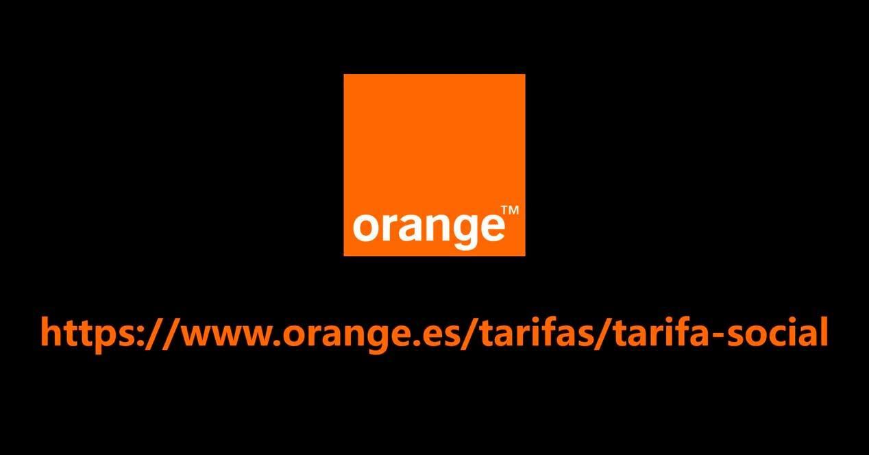 orange tarifa social