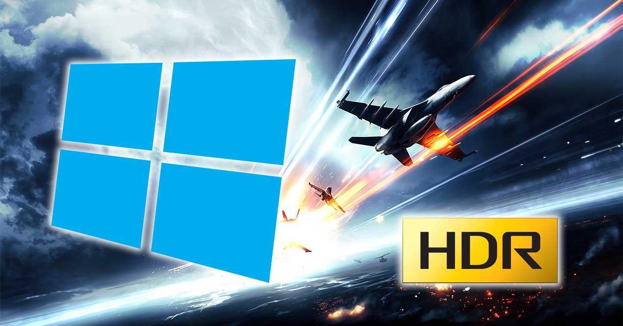 windows 10 hdr