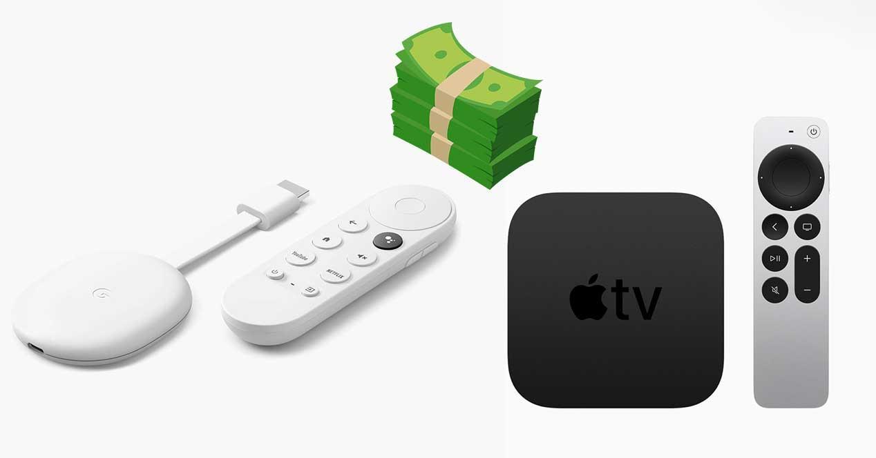 apple tv 4k chromecast google tv