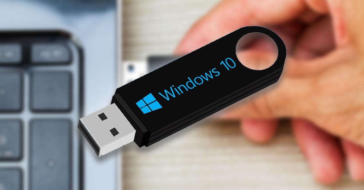 Contraseña de Windows en un USB