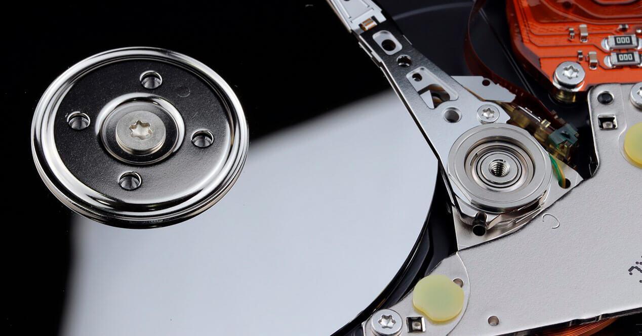 eliminar partición disco