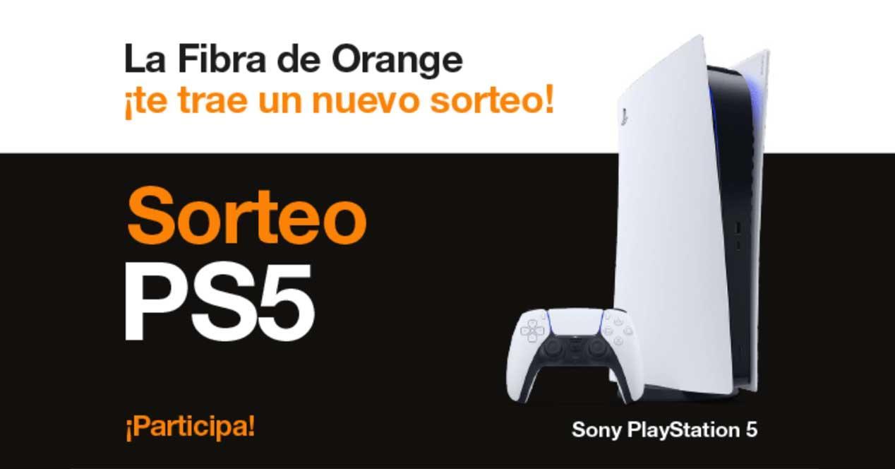 sorteo ps5 orange