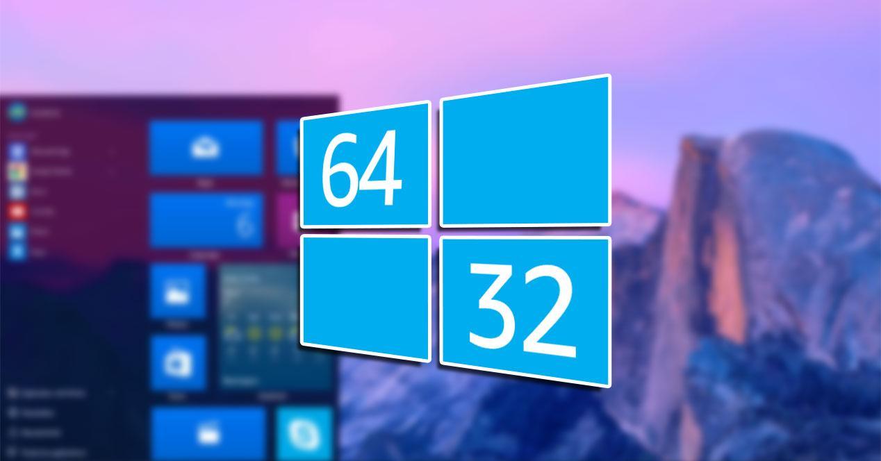 windows 10 32 64 bits