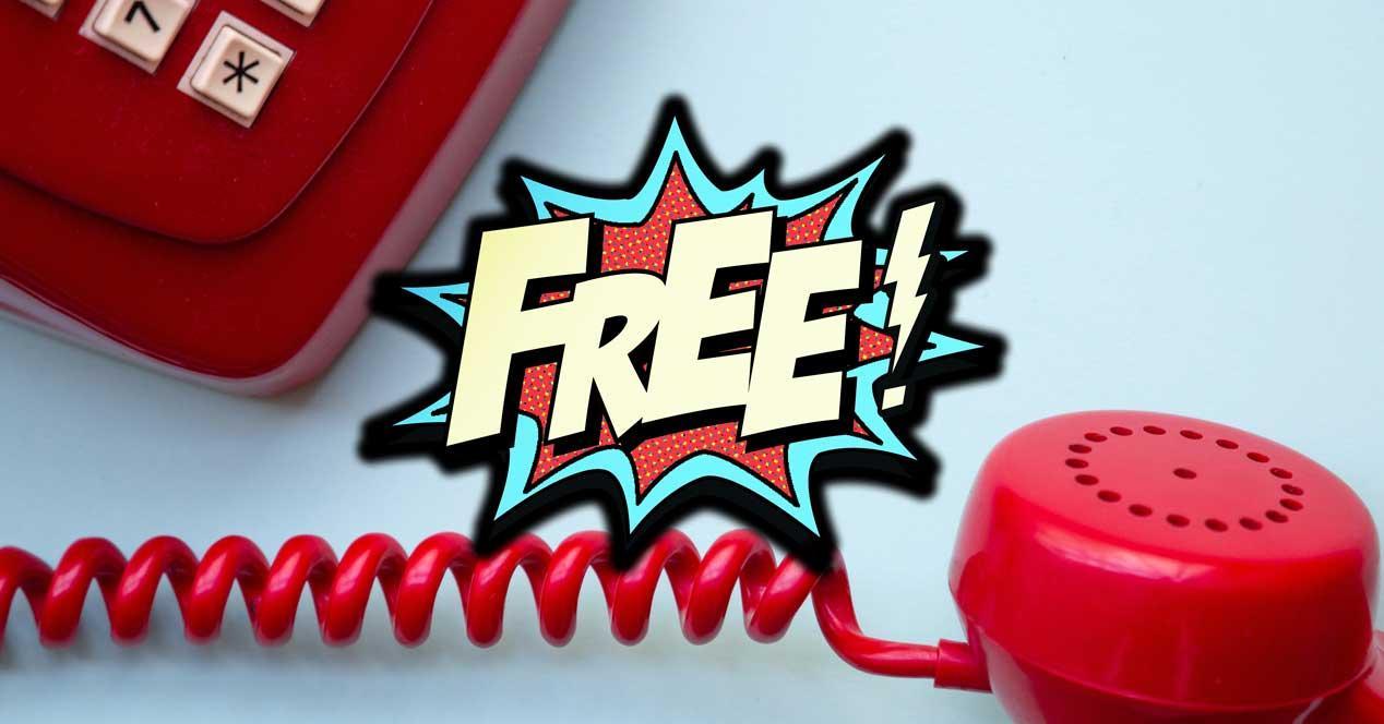 Número de telefono gratis