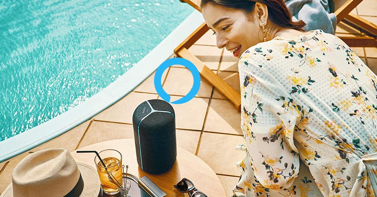 altavoces con Alexa integrada