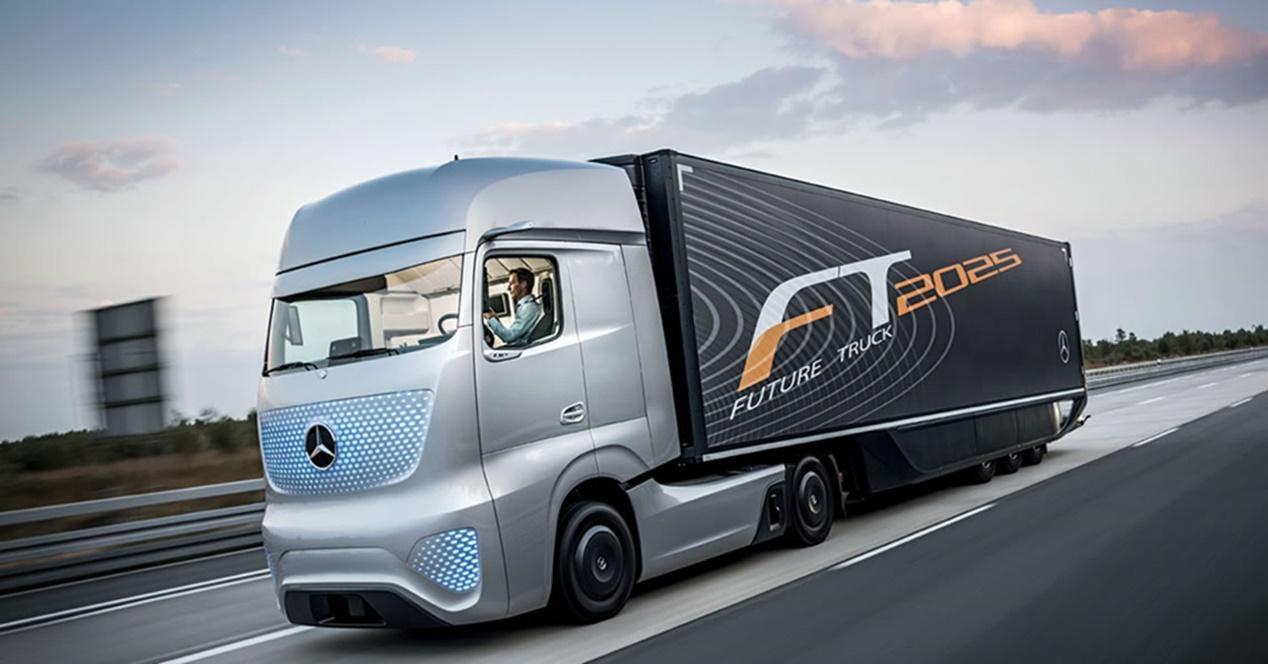 camiones eléctricos transporte