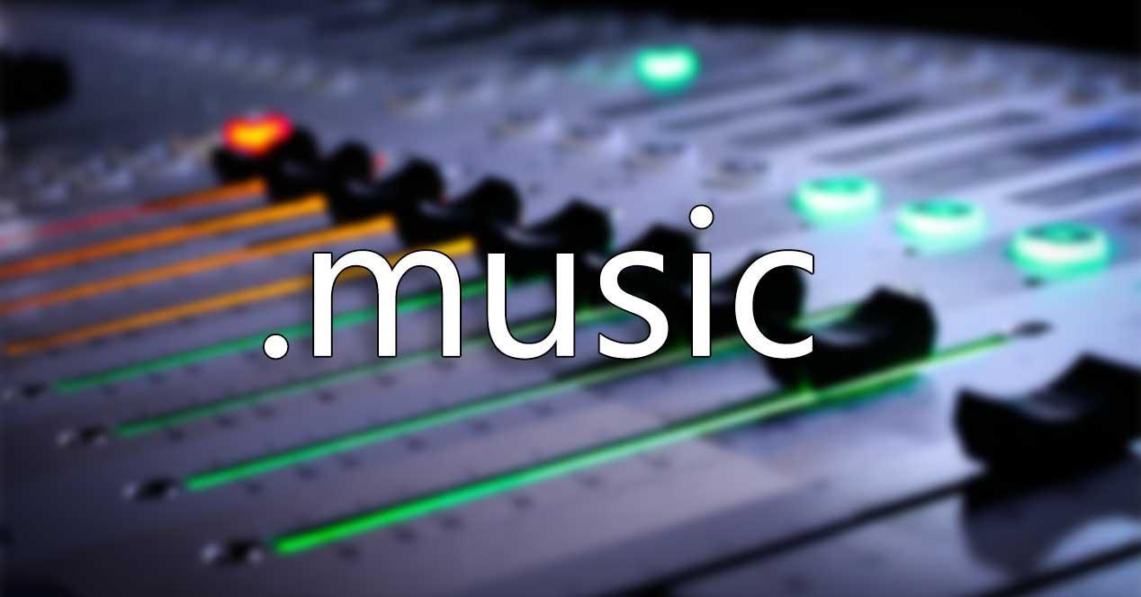dominio web .music