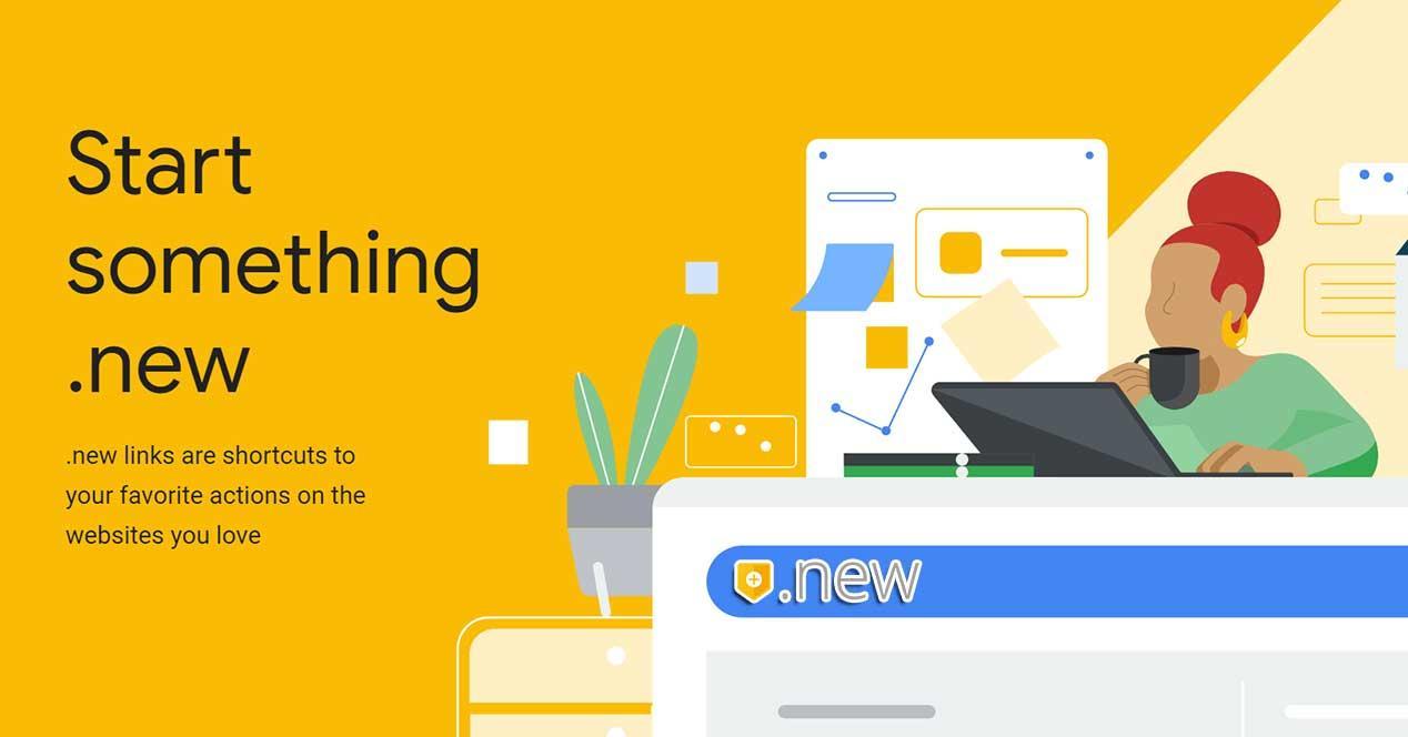 dominios .new google