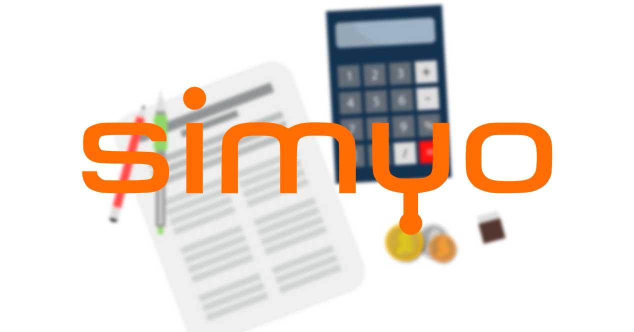 facturas Simyo