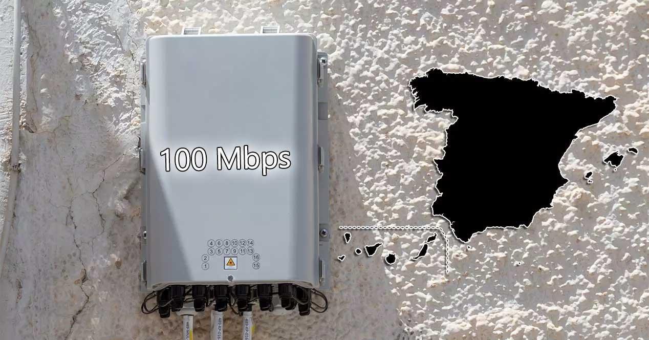 fibra 100 mbps españa 2025