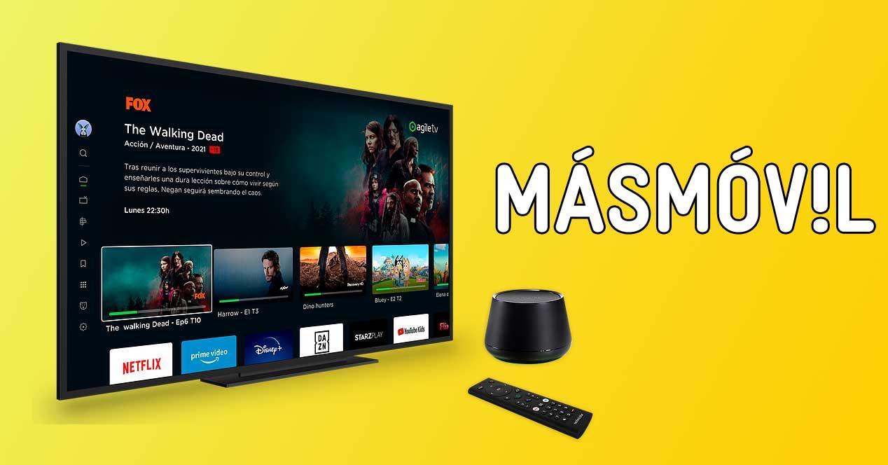 masmovil agile tv premium