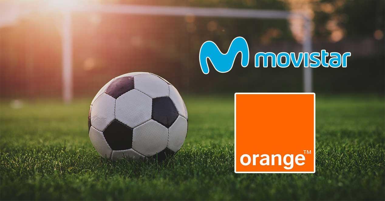 movistar orange futbol