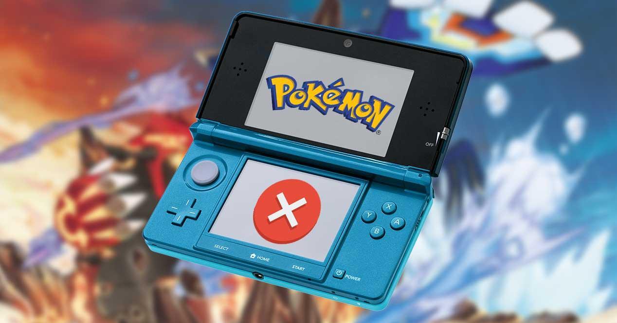 nintendo 3ds pokemon error cartucho