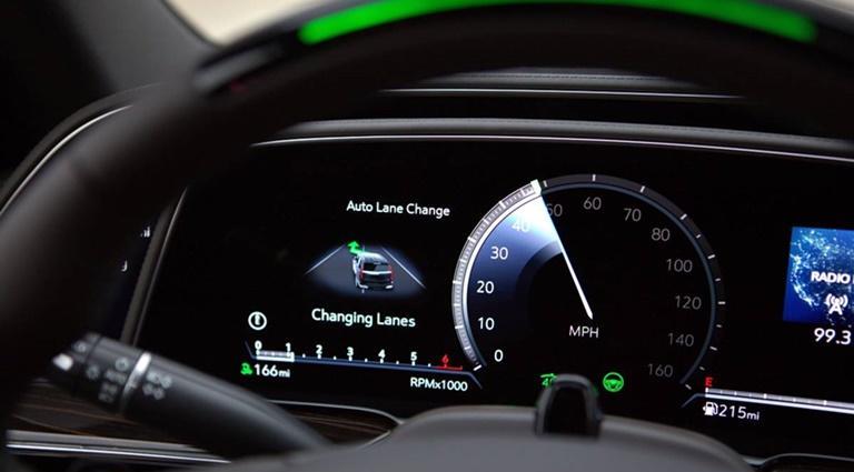 Capteurs de conduite automatique