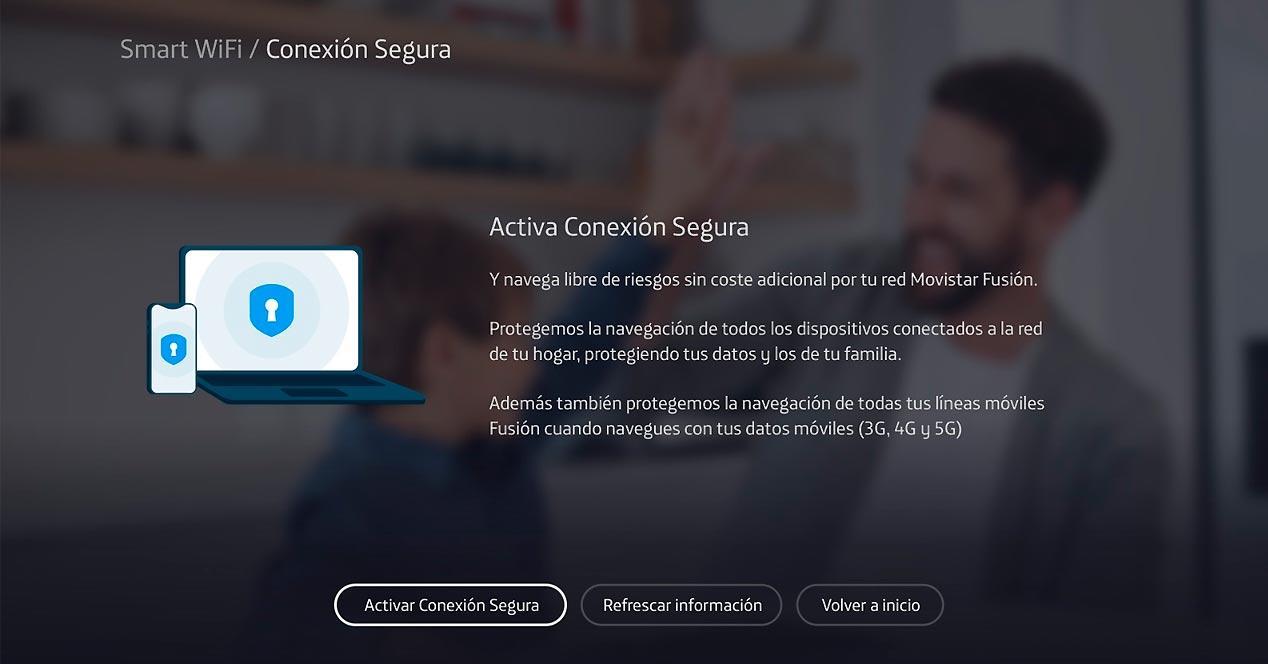 smart wifi conexion segura