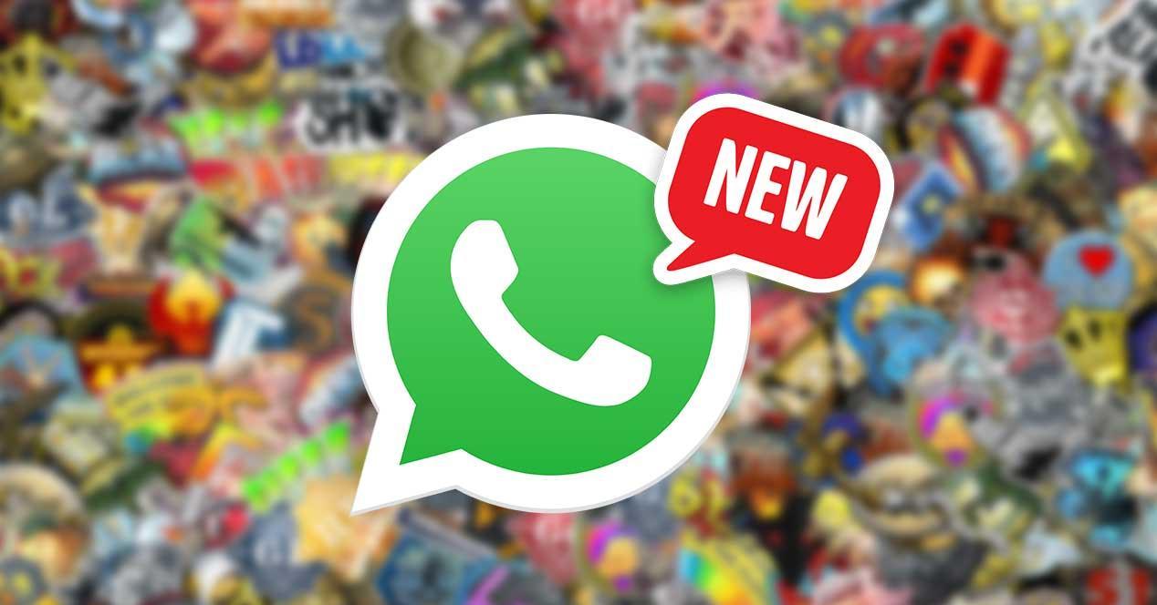 whatsapp nuevos packs stickers