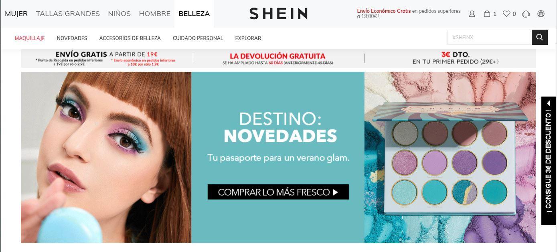Shein acheter