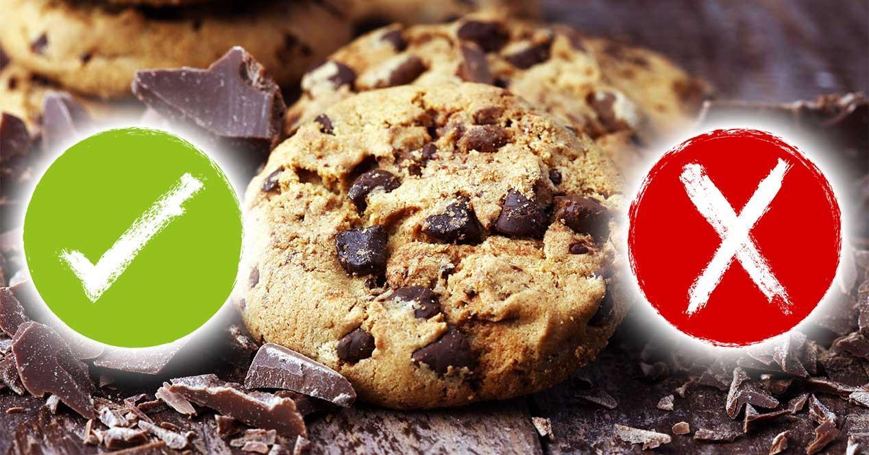 aceptar rechazar cookies