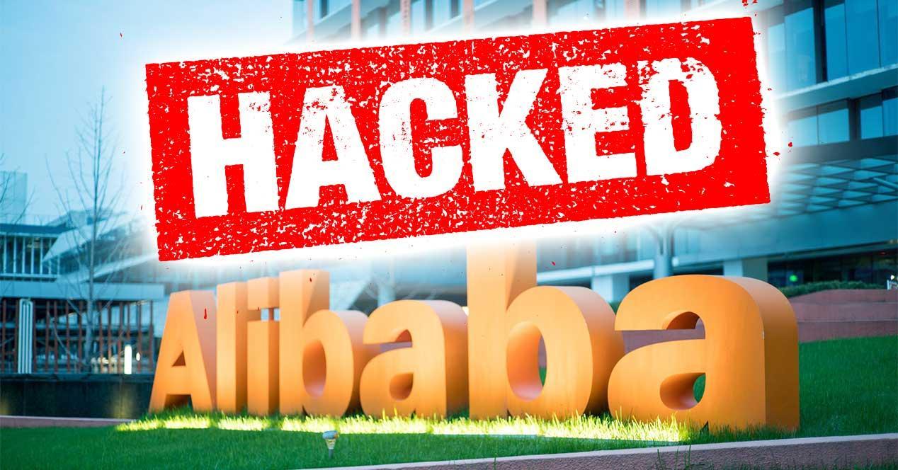 alibaba hackeo