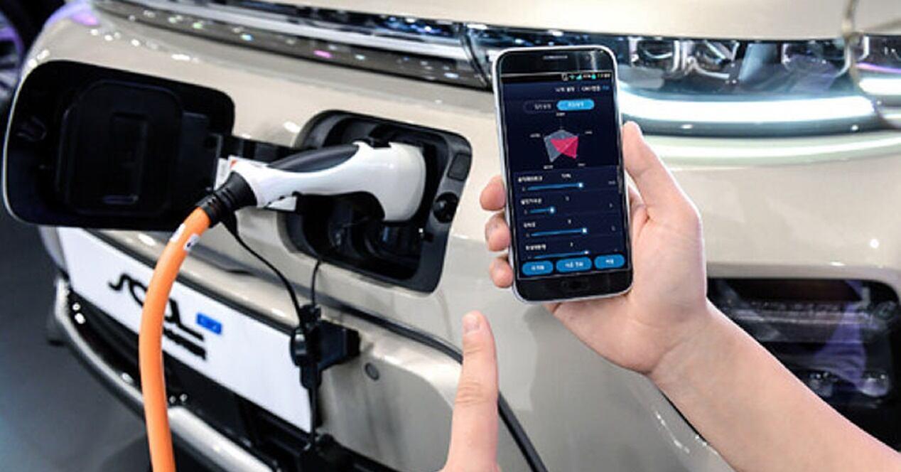 Apps utilizar conocer estado coche eléctrico
