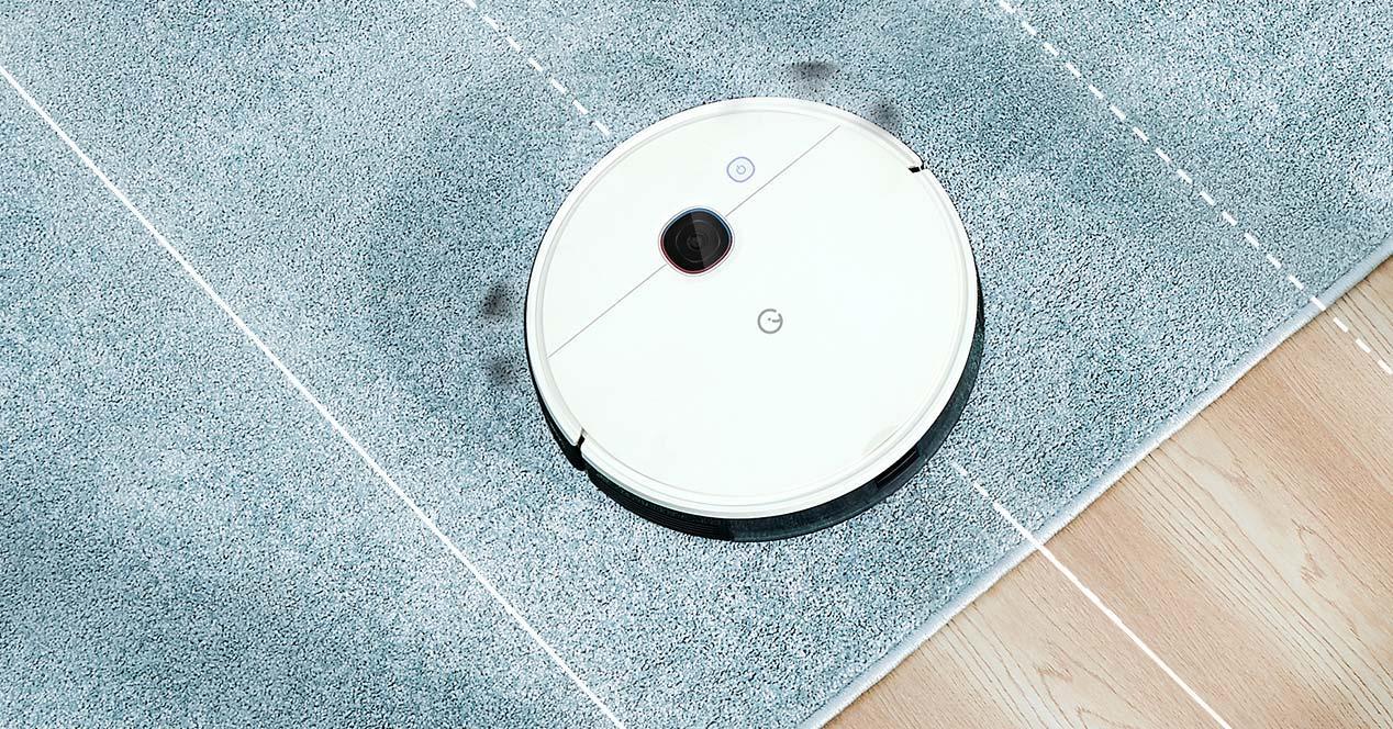 Uso de un aspirador Yeedi