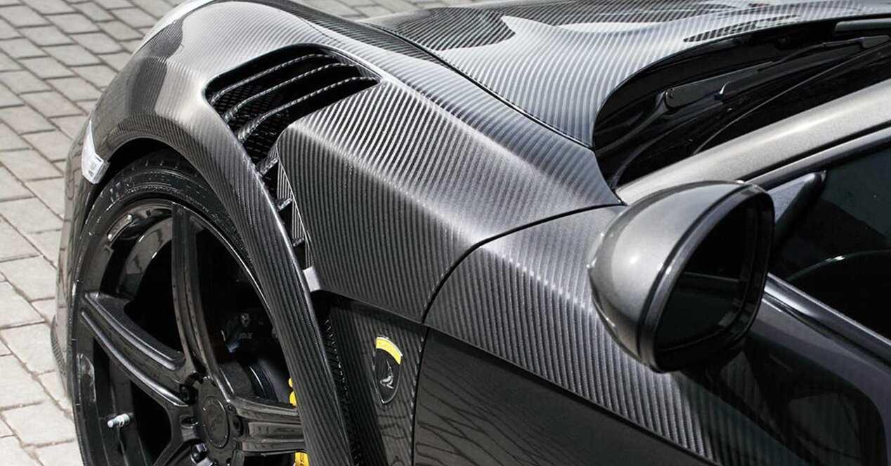 Baterías fibra carbono estructurales coche eléctrico