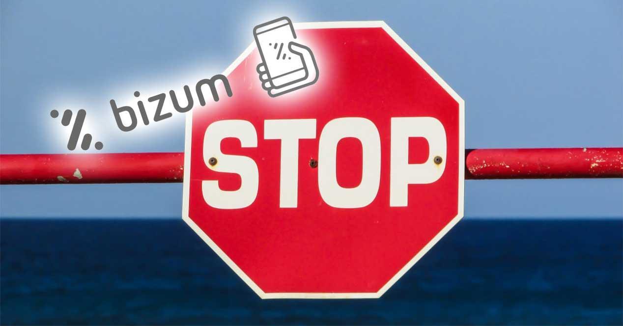 bizum stop