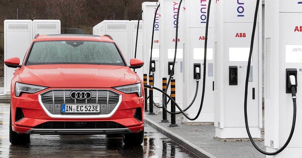 Carga rápida coches eléctricos