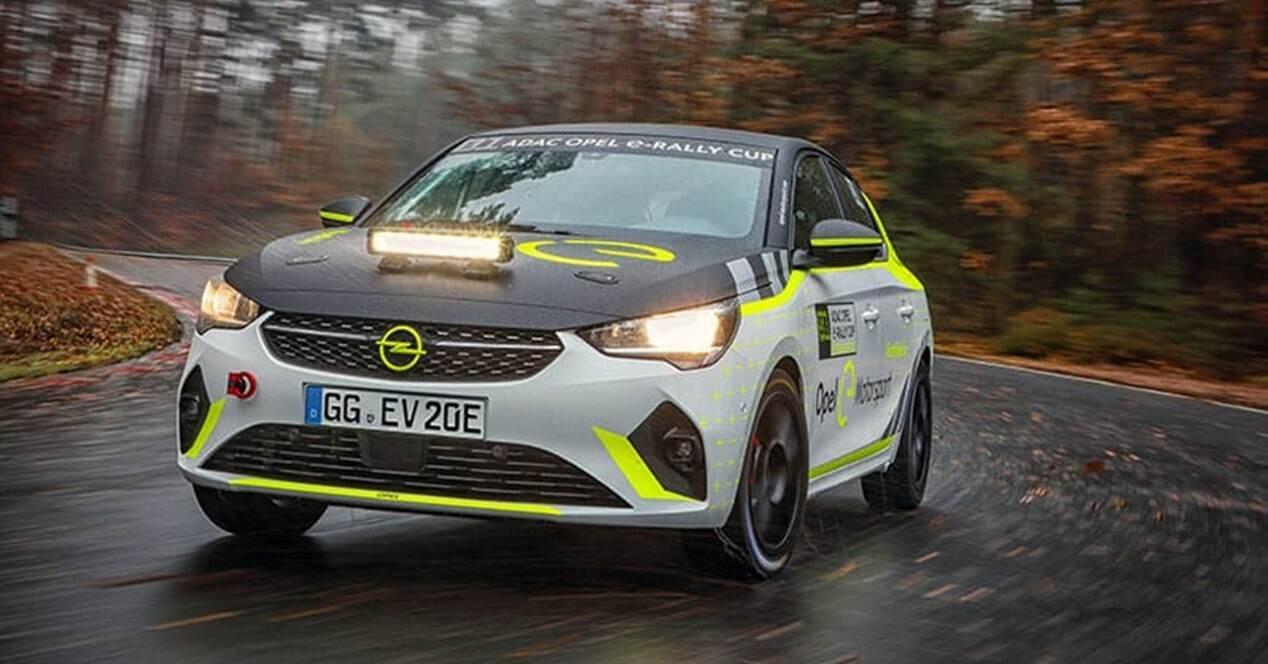 Así es Copa e-Rally vehículos eléctricos