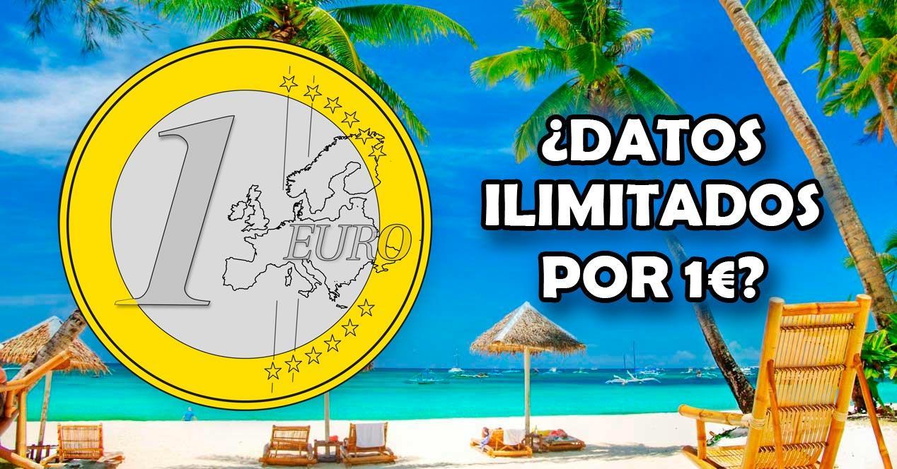 datos ilimitados 1 euro