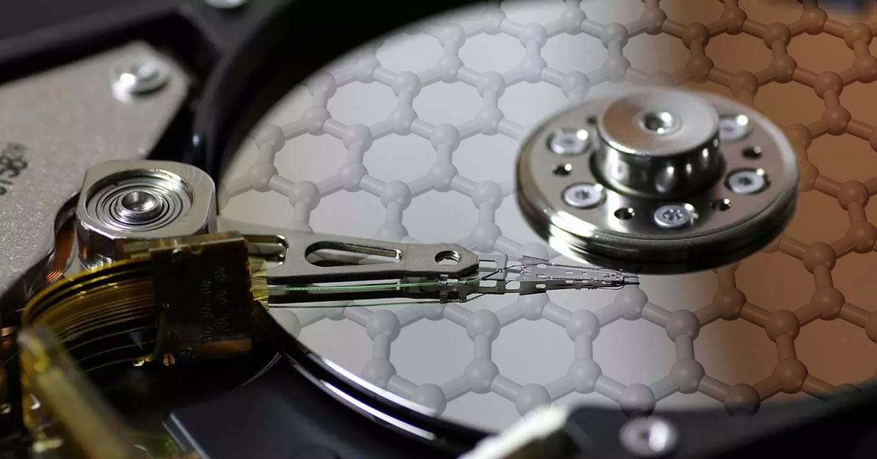 disco duro de grafeno