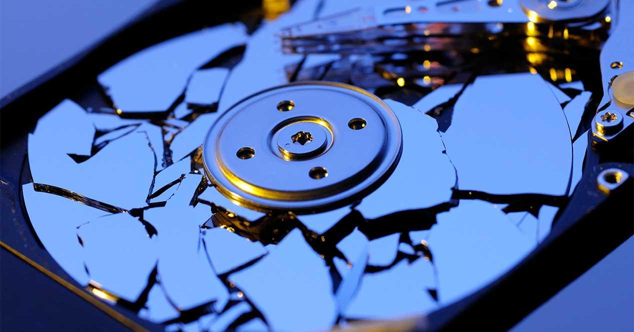 disco duro roto
