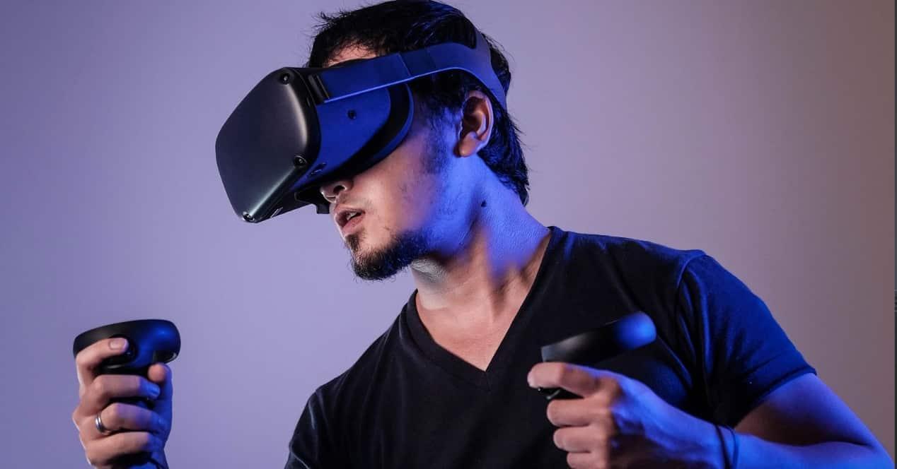 Imagen de unas gafas VR para ordenador