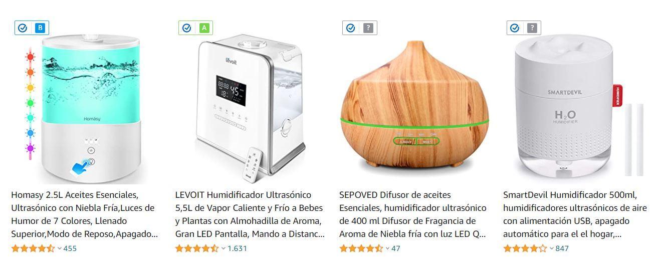 humidifcador Amazon