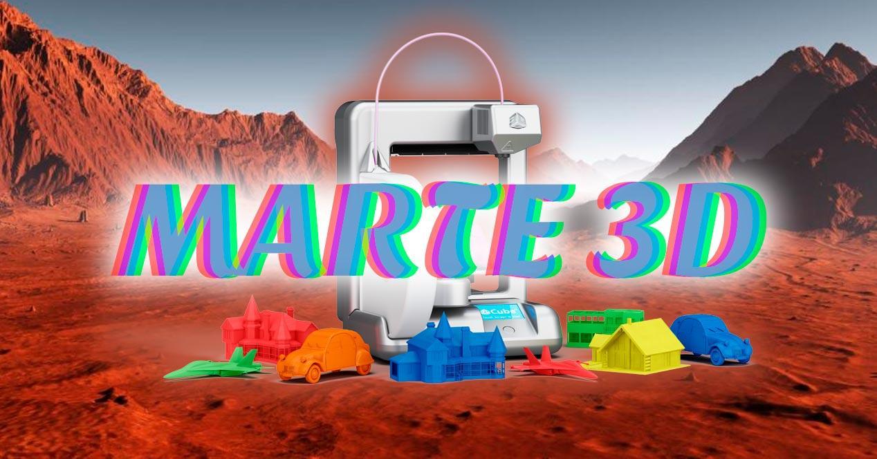 robots 3d marte