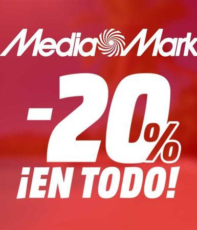 mediamarkt 20 por ciento en todo