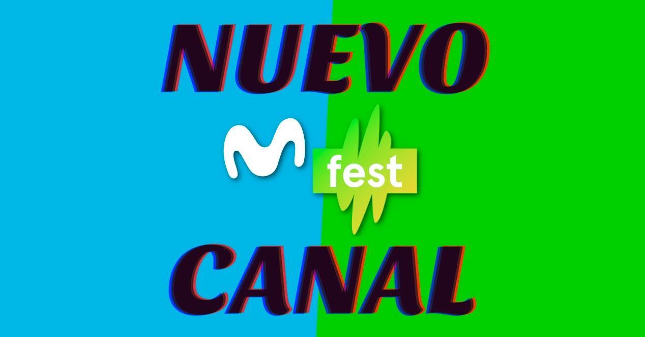 nuevo canal movistar fest