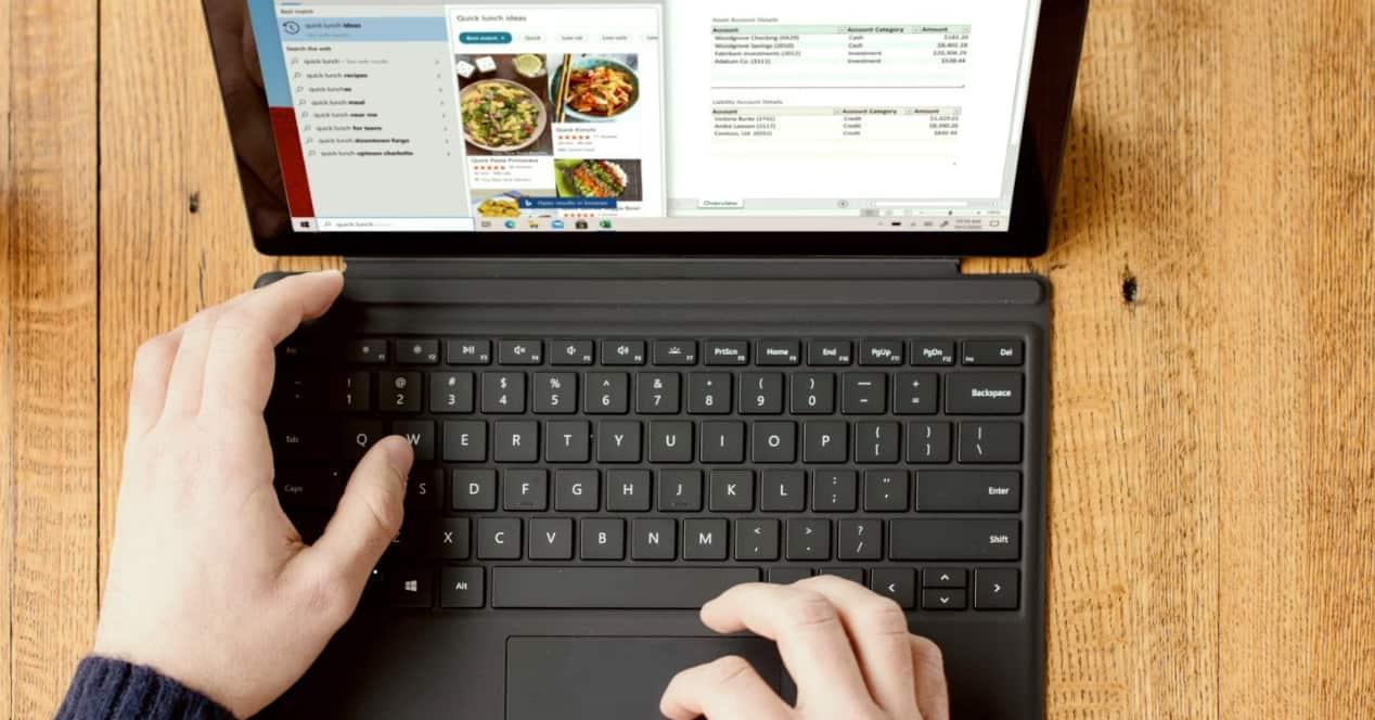 Imagen de un ordenador convertible 2 en 1
