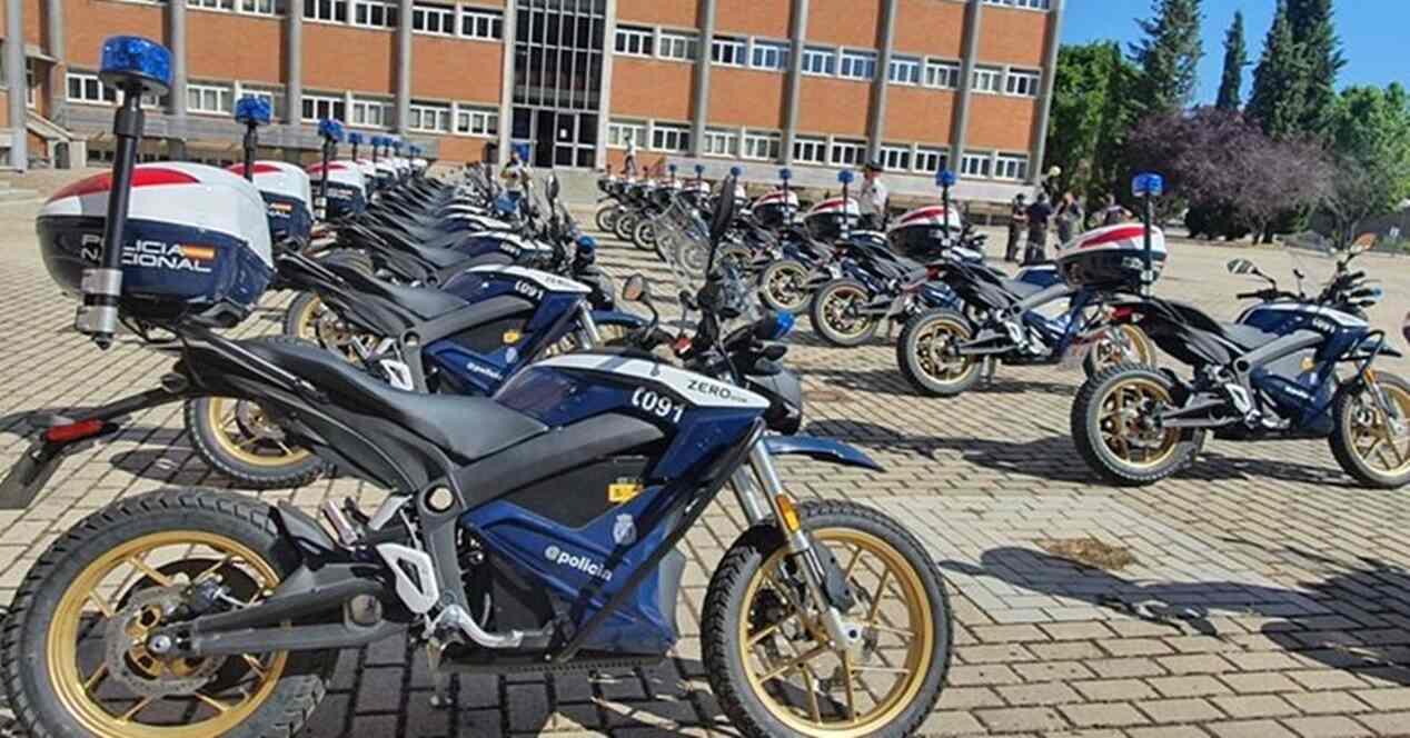 Policía Nacional motos eléctricas Zero Motorcycles