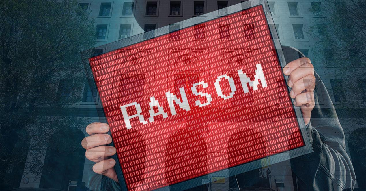 ransomware ministerio trabajo