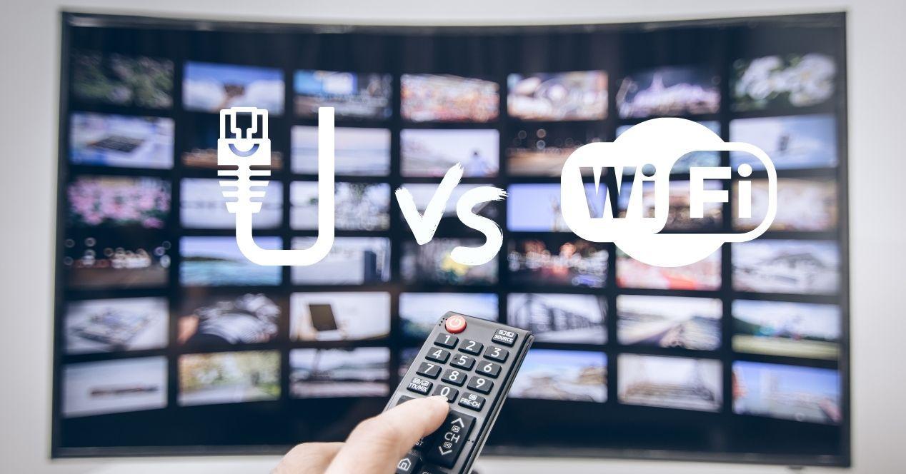 smart tv con ethernet o wifi