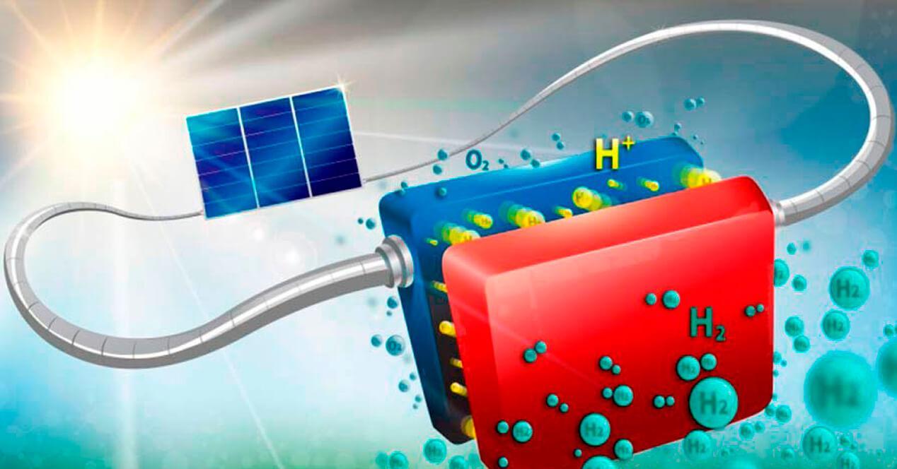 Energía solar a hidrógeno