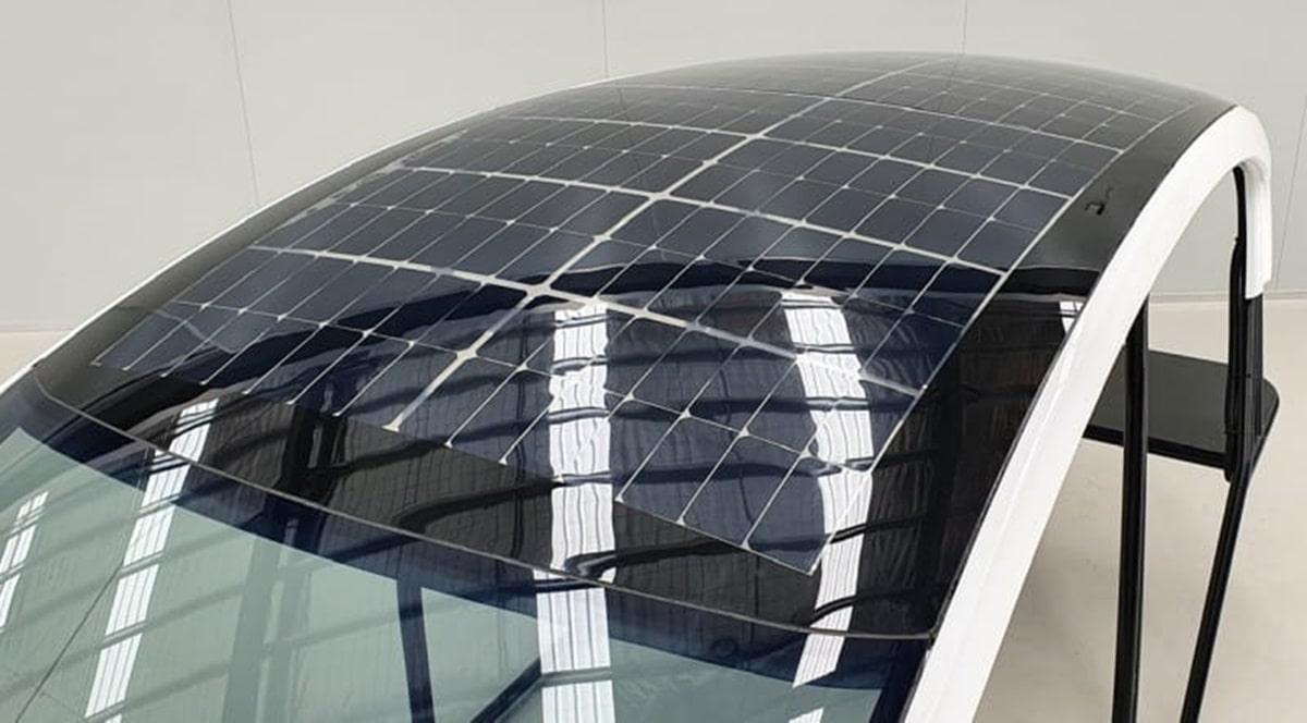 Techos solares coches eléctricos Teijin