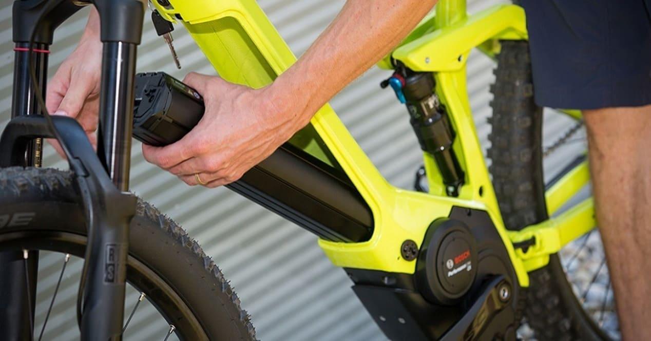 Tipos baterías bicicletas eléctricas