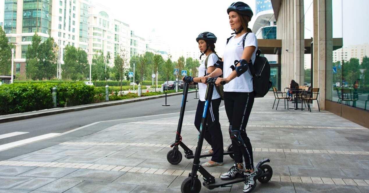 Todo tipos patinetes eléctricos