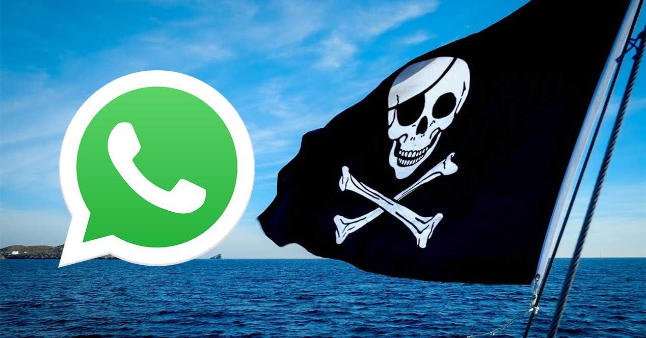 whatsapp pirateria