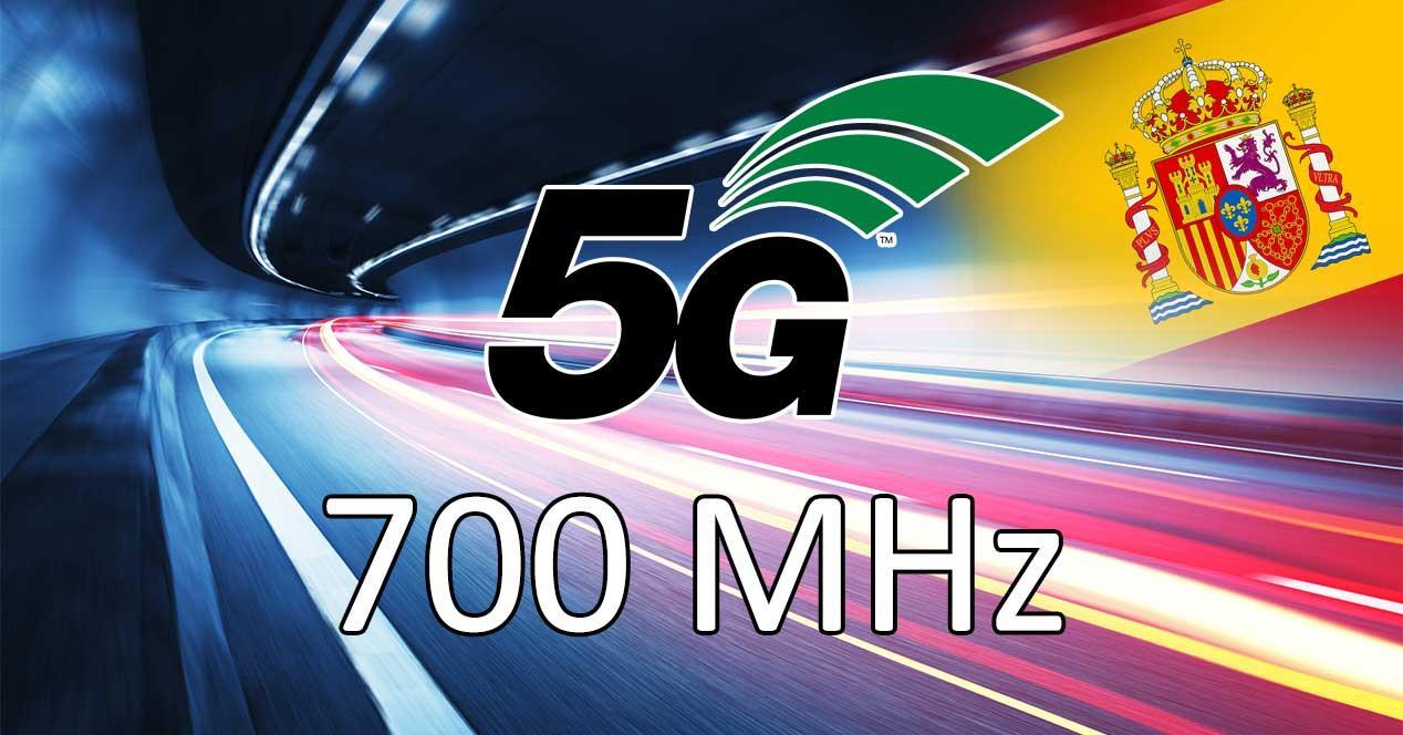 5g subasta 700 mhz españa