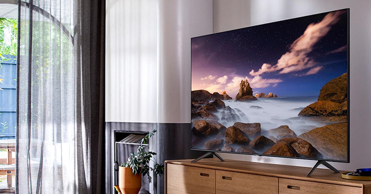 Smart TV samsung 55Q64T en oferta